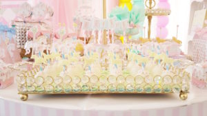 Cake pop plate from a Pastel Carousel Birthday Party on Kara's Party Ideas | KarasPartyIdeas.com (17)