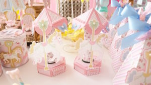 Carousel favors from a Pastel Carousel Birthday Party on Kara's Party Ideas | KarasPartyIdeas.com (12)