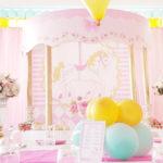 Pastel Carousel Birthday Party on Kara's Party Ideas | KarasPartyIdeas.com (4)