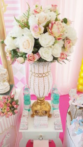 Blooms from a Pastel Carousel Birthday Party on Kara's Party Ideas | KarasPartyIdeas.com (18)