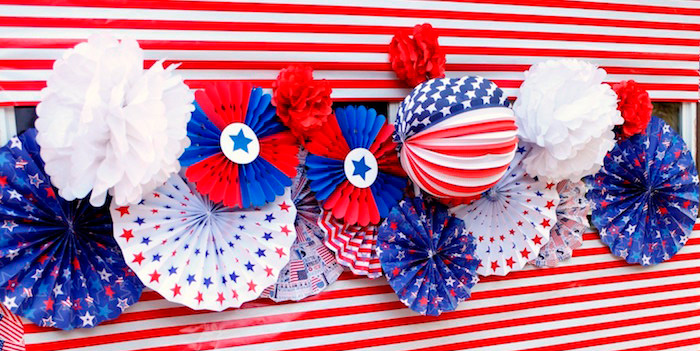 Patriotic Red, White, and Blue Barbecue on Kara's Party Ideas | KarasPartyIdeas.com (2)