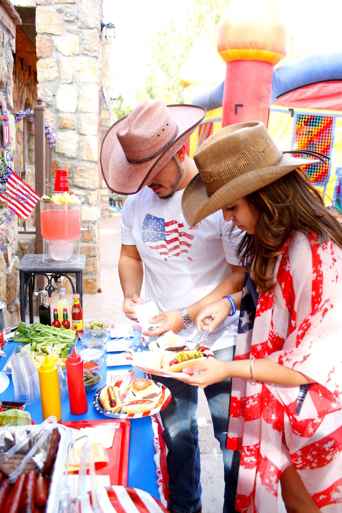 Patriotic Red, White, and Blue Barbecue on Kara's Party Ideas | KarasPartyIdeas.com (14)