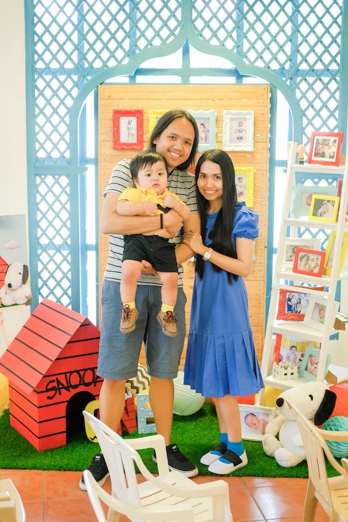 Peanuts + Snoopy Birthday Party on Kara's Party Ideas   KarasPartyIdeas.com (7)