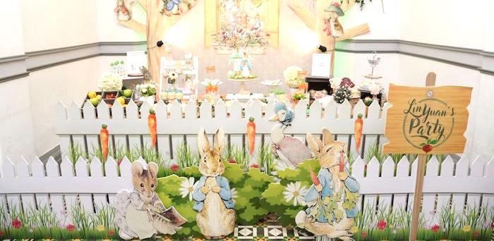 Peter Rabbit Garden Birthday Party on Kara's Party Ideas | KarasPartyIdeas.com (2)