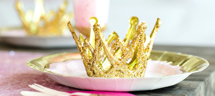 Pink & Gold Princess Party on Kara's Party Ideas | KarasPartyIdeas.com (1)