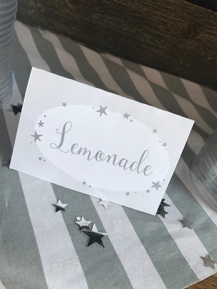 Star label from a Rustic Twinkle Star Gender Reveal Baby Shower on KARA'S PARTY IDEAS | KarasPartyIdeas.com (17)
