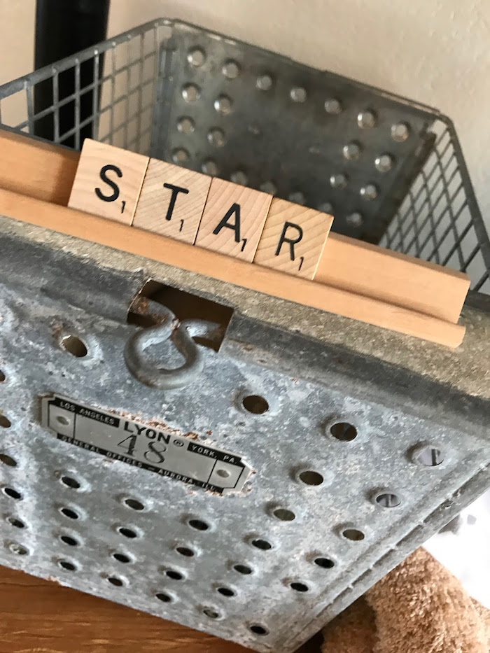Star lettering from a Rustic Twinkle Star Gender Reveal Baby Shower on KARA'S PARTY IDEAS | KarasPartyIdeas.com (41)