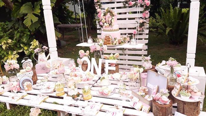 Secret Garden Birthday Party on Kara's Party Ideas   KarasPartyIdeas.com (25)