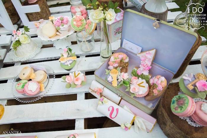 Secret Garden Birthday Party on Kara's Party Ideas   KarasPartyIdeas.com (23)