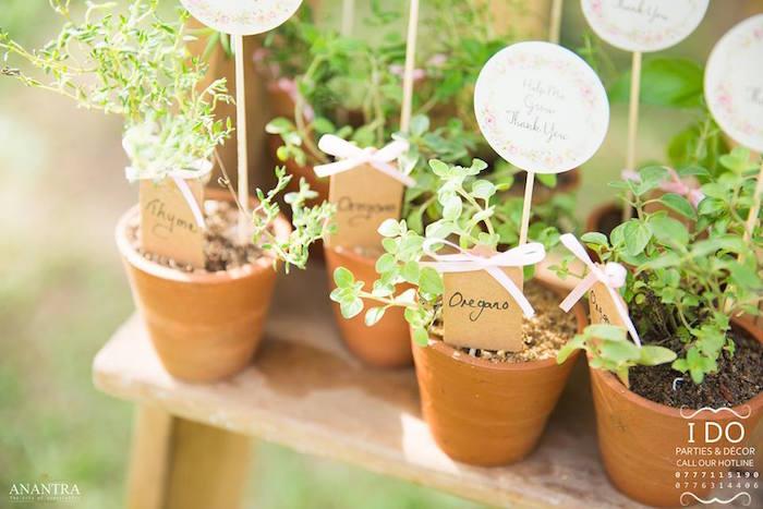 Secret Garden Birthday Party on Kara's Party Ideas   KarasPartyIdeas.com (8)
