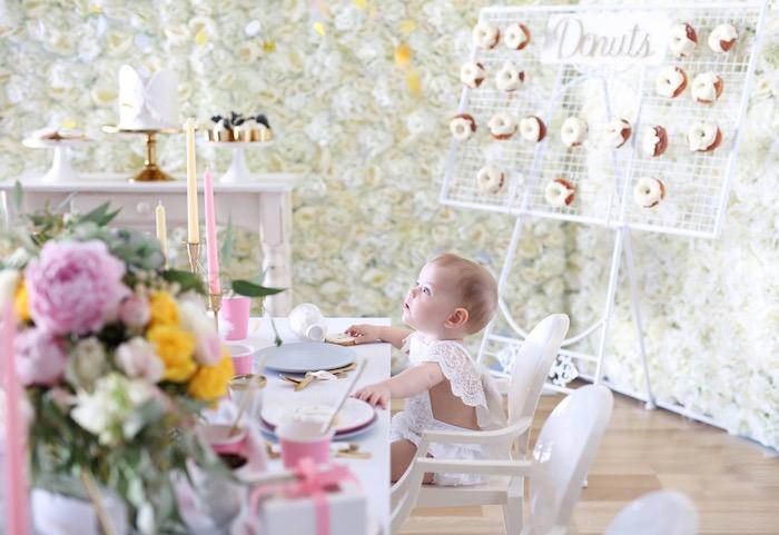 Shabby Chic Little Angel Birthday Party on Kara's Party Ideas | KarasPartyIdeas.com (5)