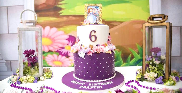 Sofia The First Birthday Party On Karas Ideas