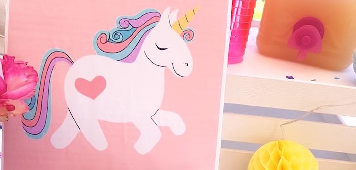 Summer Unicorn Birthday Party on Kara's Party Ideas | KarasPartyIdeas.com (3)