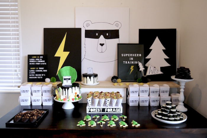 Superhero Bear Birthday Party on Kara's Party Ideas | KarasPartyIdeas.com (28)