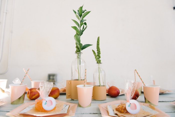 Sweet As A Peach 1st Birthday Party on Kara's Party Ideas | KarasPartyIdeas.com (25)