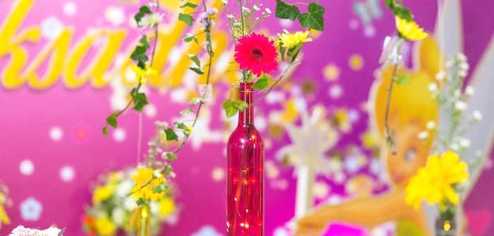 Tinkerbell Fairy Garden Birthday Party on Kara's Party Ideas | KarasPartyIdeas.com (3)