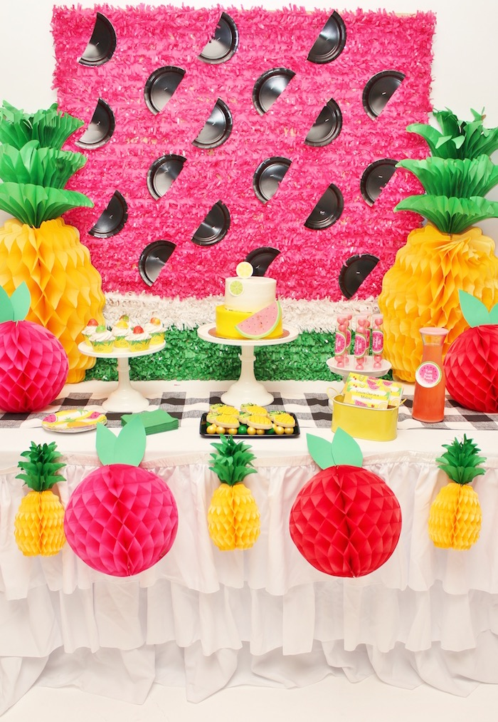 Tutti Frutti Birthday Party on Kara's Party Ideas | KarasPartyIdeas.com (6)