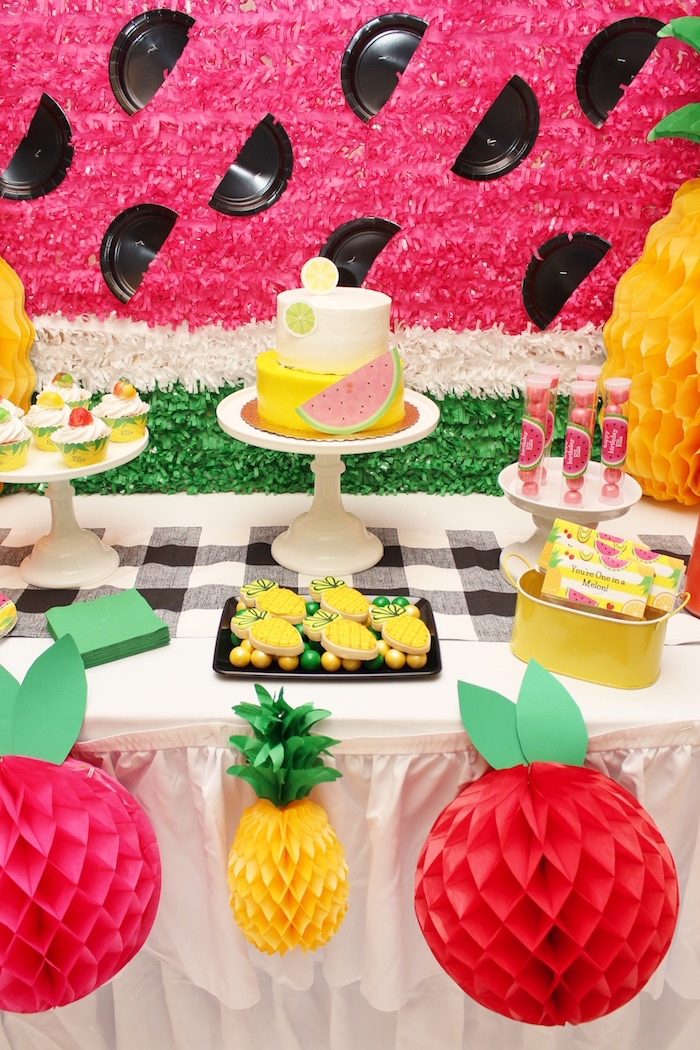 Tutti Frutti Birthday Party on Kara's Party Ideas | KarasPartyIdeas.com (15)