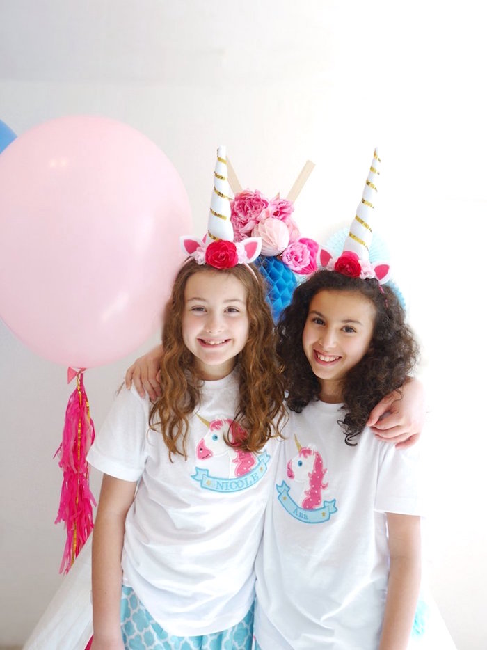 Unicorn Slumber Party on Kara's Party Ideas | KarasPartyIdeas.com (6)