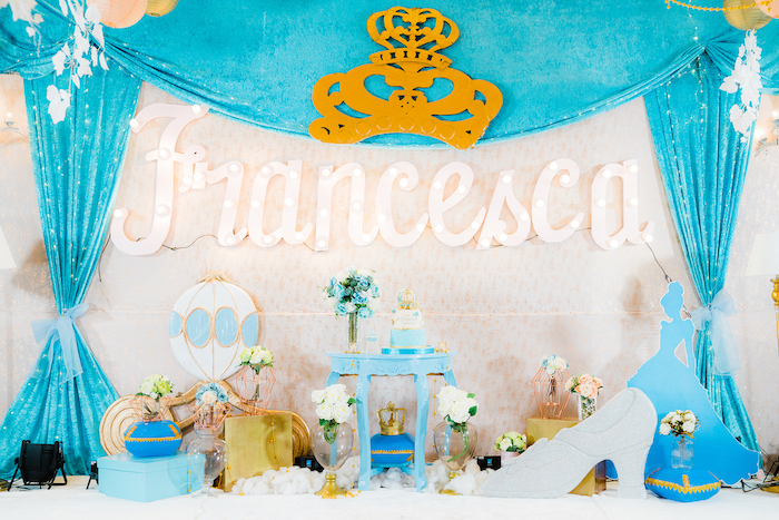 Vintage Cinderella Birthday Party