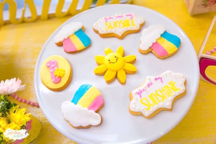 You Are My Sunshine Birthday Party on Kara's Party Ideas | KarasPartyIdeas.com (20)