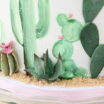 """Desert Love"" Cactus Themed Birthday Party on Kara's Party Ideas 