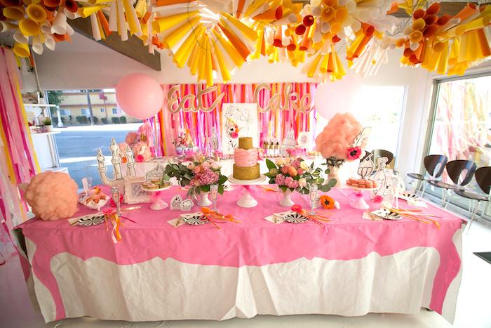 """Let Them Eat Cake"" Birthday Party on Kara's Party Ideas | KarasPartyIdeas.com (21)"
