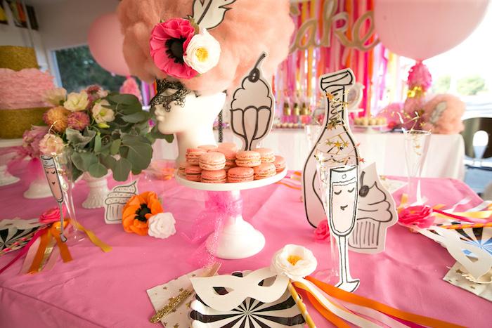 """Let Them Eat Cake"" Birthday Party on Kara's Party Ideas | KarasPartyIdeas.com (18)"