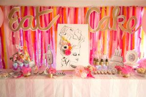 """Let Them Eat Cake"" Birthday Party on Kara's Party Ideas | KarasPartyIdeas.com (16)"