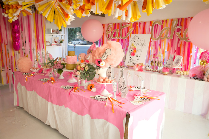 """Let Them Eat Cake"" Birthday Party on Kara's Party Ideas | KarasPartyIdeas.com (15)"