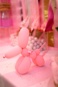 "Balloon dog from a ""Let Them Eat Cake"" Birthday Party on Kara's Party Ideas | KarasPartyIdeas.com (10)"