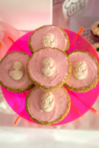 "Marie Antoinette Tarts from a ""Let Them Eat Cake"" Birthday Party on Kara's Party Ideas 