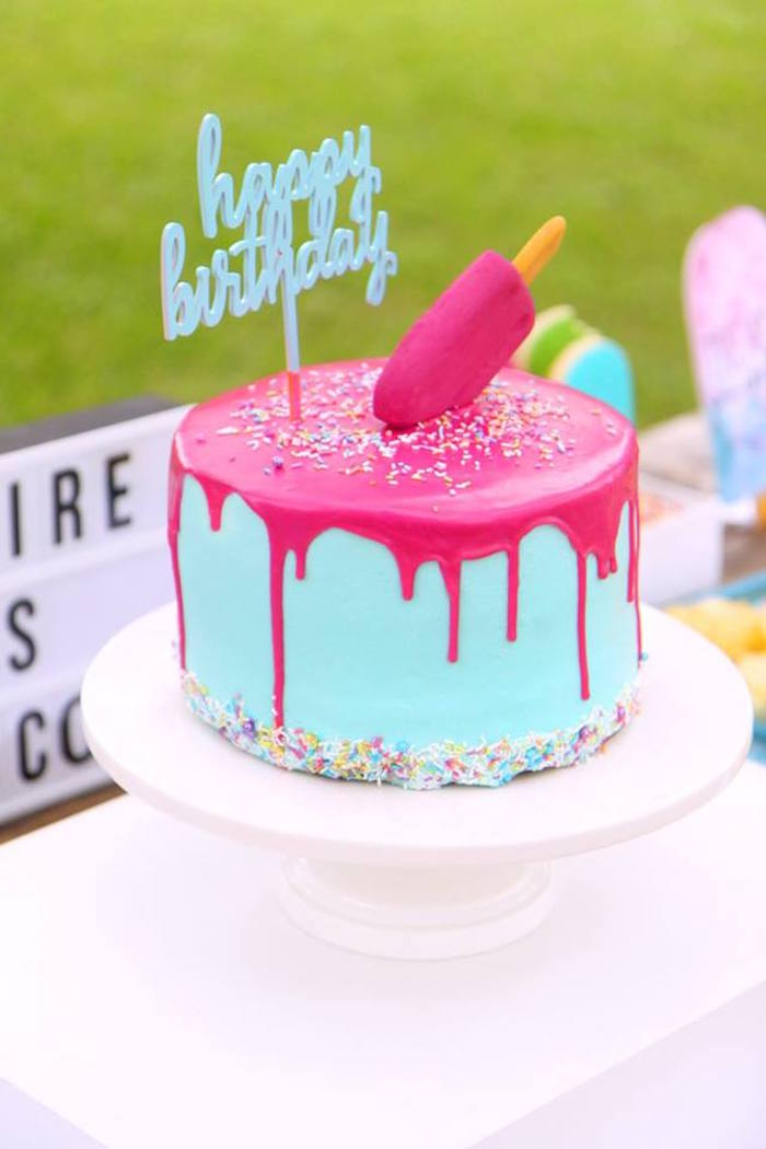 Kara S Party Ideas Quot Two Cool Quot Popsicle Themed Birthday