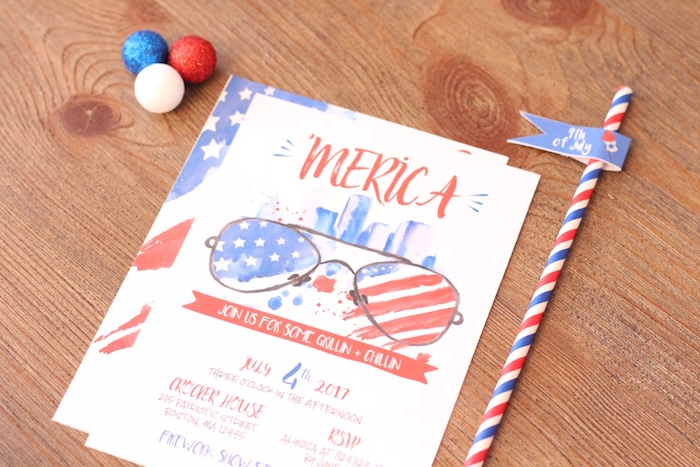 4th of July Party on Kara's Party Ideas | KarasPartyIdeas.com (16)