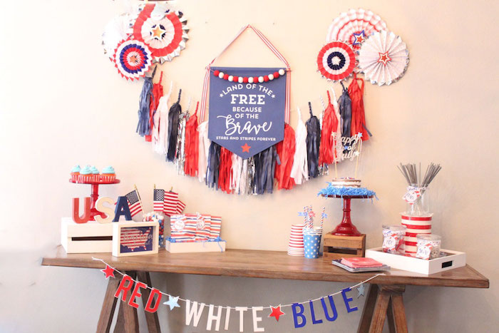 4th of July Party on Kara's Party Ideas | KarasPartyIdeas.com (15)