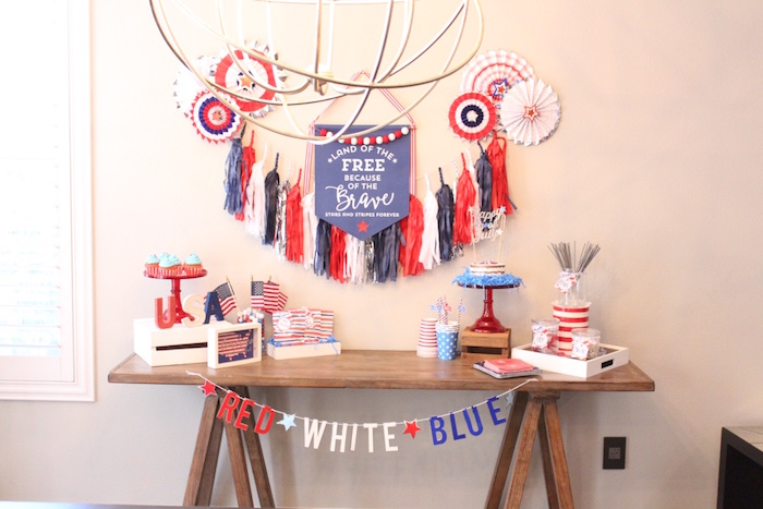4th of July Party on Kara's Party Ideas | KarasPartyIdeas.com (14)