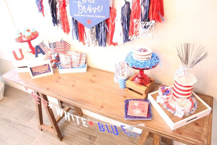 4th of July Party on Kara's Party Ideas | KarasPartyIdeas.com (11)