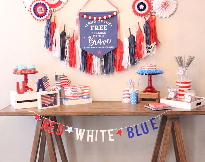 4th of July Party on Kara's Party Ideas | KarasPartyIdeas.com (27)