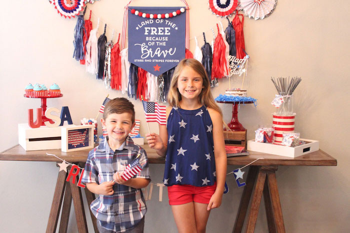4th of July Party on Kara's Party Ideas | KarasPartyIdeas.com (5)