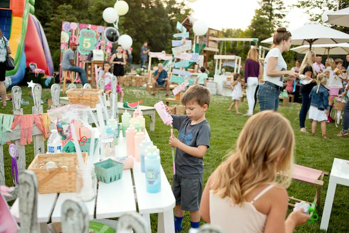 5th Annual County Fair Birthday Party on Kara's Party Ideas | KarasPartyIdeas.com (15)
