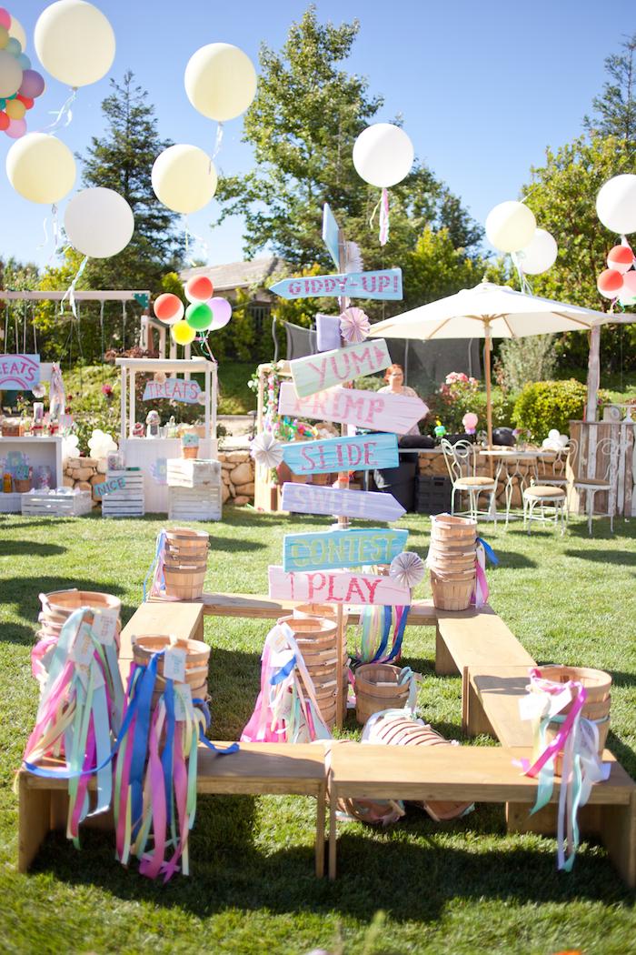 5th Annual County Fair Birthday Party on Kara's Party Ideas | KarasPartyIdeas.com (61)