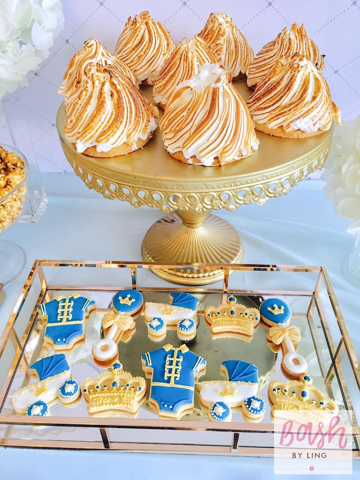 Sweets from A Royal Baby Shower on Kara's Party Ideas | KarasPartyIdeas.com (9)