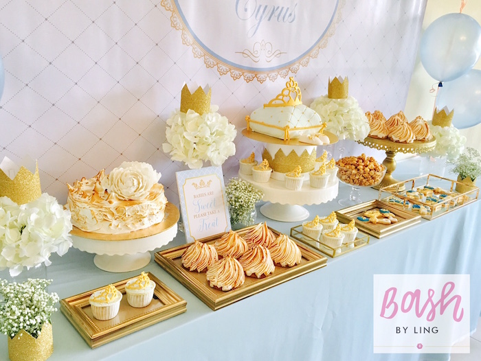 A Royal Baby Shower on Kara's Party Ideas | KarasPartyIdeas.com (6)