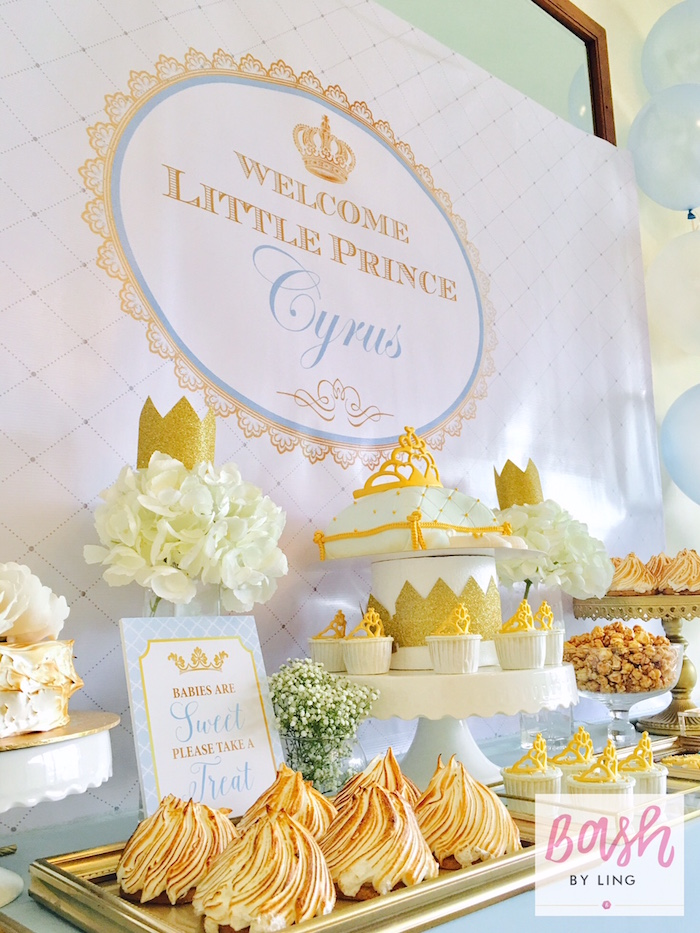 A Royal Baby Shower on Kara's Party Ideas | KarasPartyIdeas.com (21)