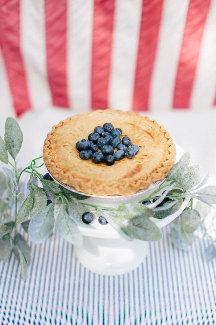 Blueberry pie from an All American Labor Day Barbecue on Kara's Party Ideas | KarasPartyIdeas.com (36)