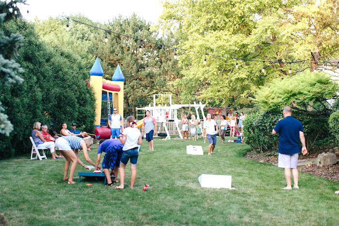 Partyscape from an All American Labor Day Barbecue on Kara's Party Ideas | KarasPartyIdeas.com (16)