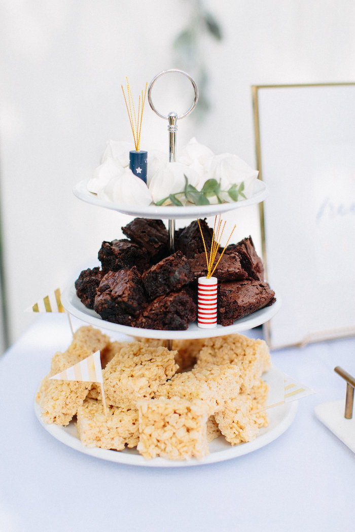 Dessert platter from an All American Labor Day Barbecue on Kara's Party Ideas | KarasPartyIdeas.com (14)