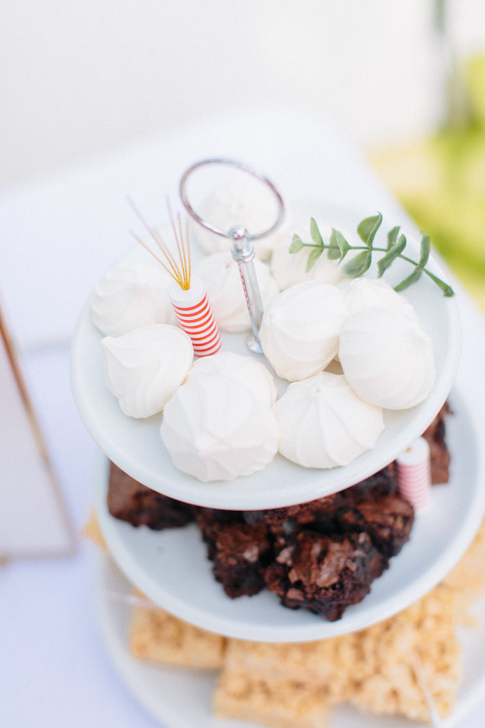 White meringue cookies from an All American Labor Day Barbecue on Kara's Party Ideas | KarasPartyIdeas.com (28)