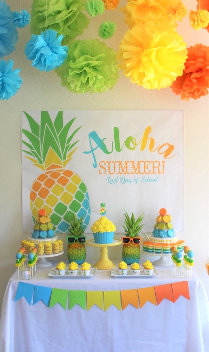 Aloha Summer Party On Kara S Ideas Karaspartyideas 15