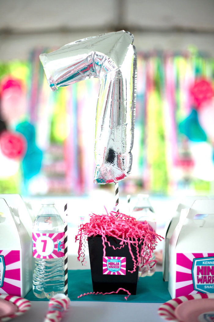 Kara S Party Ideas American Ninja Warrior Themed Birthday